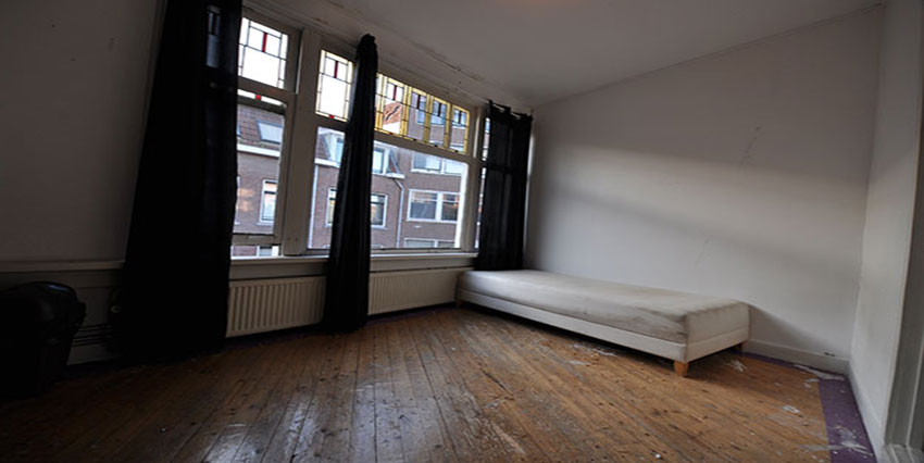 Room for rent for students at Bergpolderstraat in Rotterdam Noord.