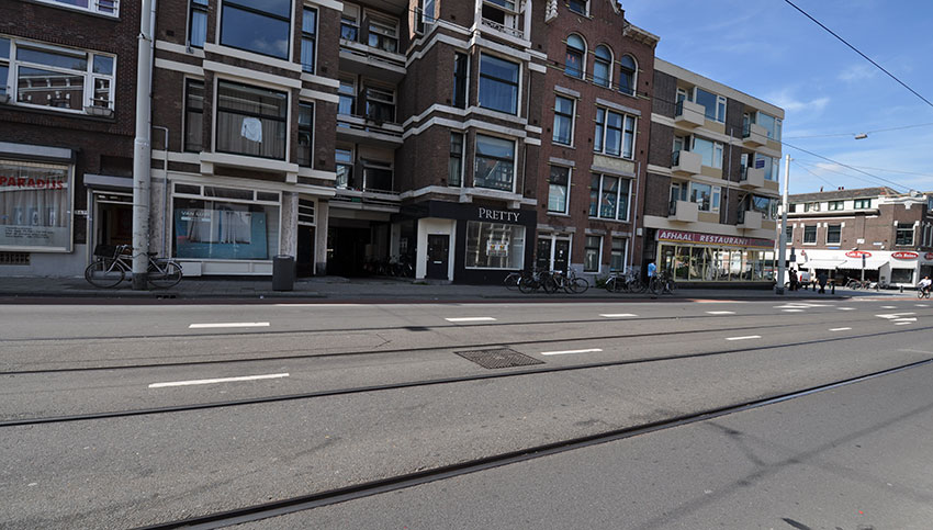Retail space for rent on the Bergweg in Oude Noorden in Rotterdam.
