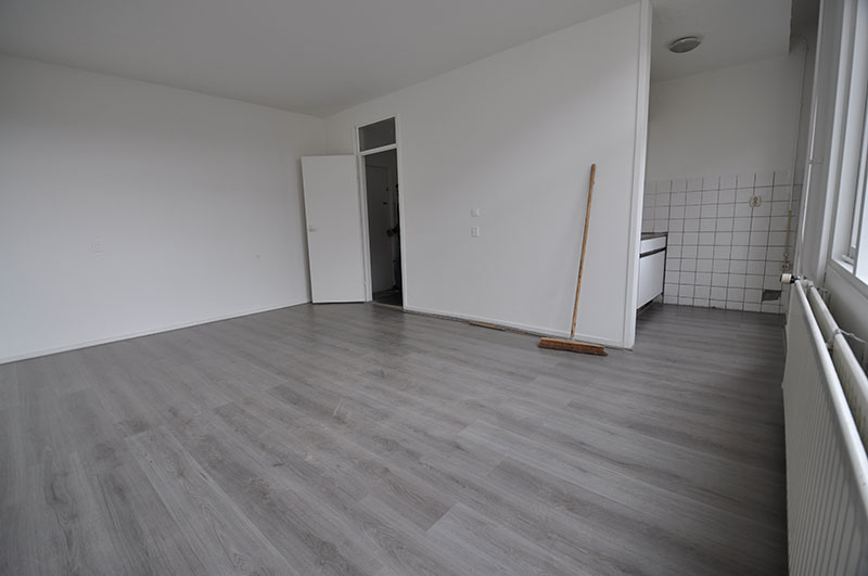 For rent studio on the Gerard Scholtenstraat Rotterdam North.