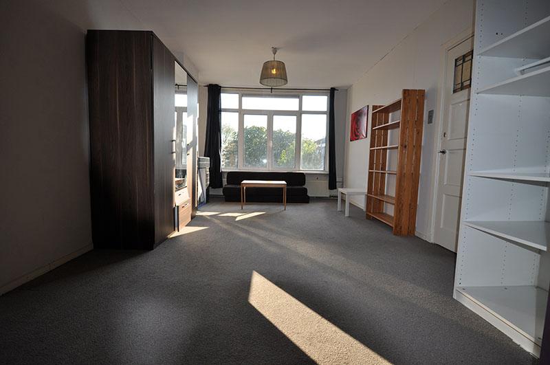 Kamer te huur gelegen aan een rustige straat aan de Schieweg in Rotterdam Noord